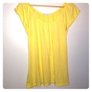 Gap Yellow Blouse